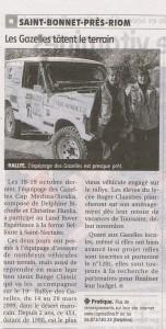 Rallye Aicha des gazelles : la montagne 4 novembre