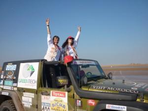 Rallye des Gazelles - Arrivée