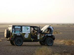 Rallye des Gazelles 2010- Etape 2