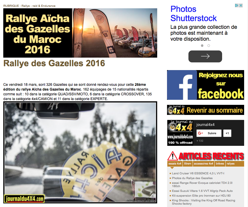 le journal du 4x4 rallye aicha des gazelles 2018 team 220. Black Bedroom Furniture Sets. Home Design Ideas